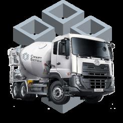 Продающий сайт и логотип для производства бетона